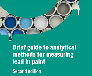 BRIEF GUIDE TO ANALYTICAL METHODS FOR MEASURING LEAD IN PAINT